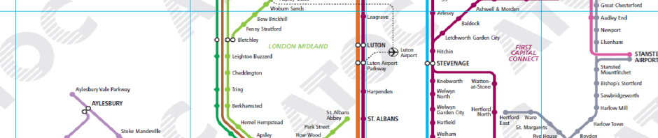 London Midland Out Of The LOOP - London midland train map