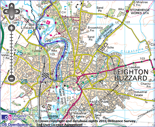 Leighton Buzzard Map Woburn Abbey & the Greensands | Out of the LOOP