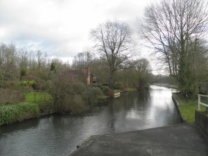 Kennet & Avon Canal at Woolhampton