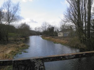 River Kennet at Chamberhouse Farm