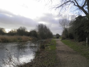 Kennet & Avon Canal at Monkey Marsh Lock