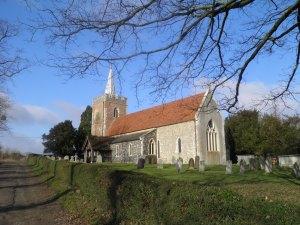 Gilston church