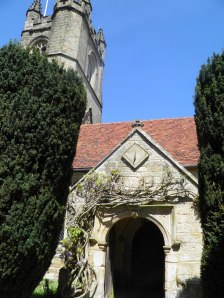 Chiddingstone church
