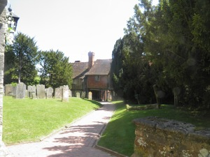 Penshurst churchyard