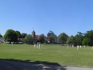 Leigh village green