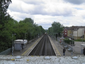 Dunton Green station