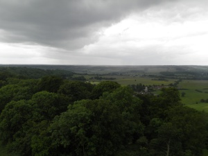 Aldbury from Bridgewater Monument