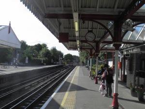 Amersham station