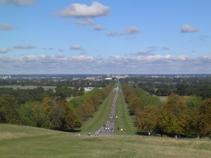 Long Walk and Windsor from the Copper Horse