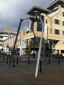 The Woking Martian Tripod