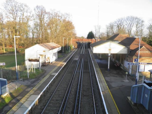 Wanborough station