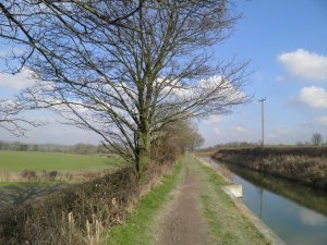 In-water section of the Wendover Arm
