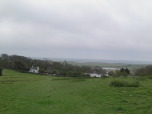 The Channel from Icklesham windmill