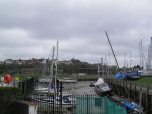 Rye, across the Rother