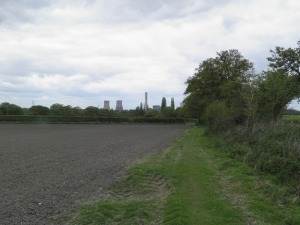 Didcot Power Station from Down Hill