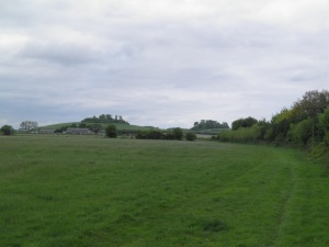 Approaching Wittenham Clumps