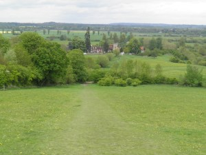 Little Wittenham from Round Hill