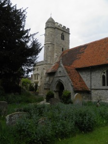 Little Wittenham church and manor