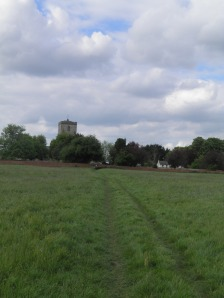 The path from Cholsey church